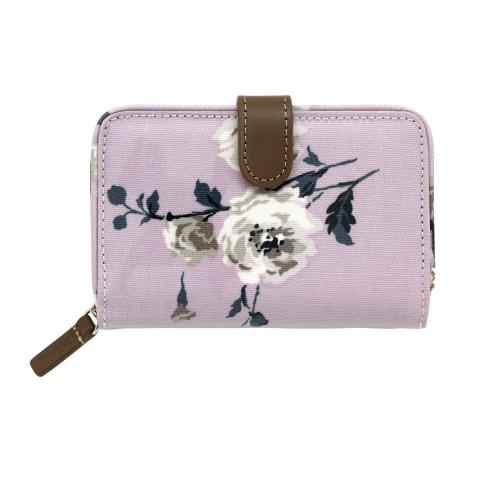 FOLDED ZIP WALLET ISLAND BUNCH BLUSH