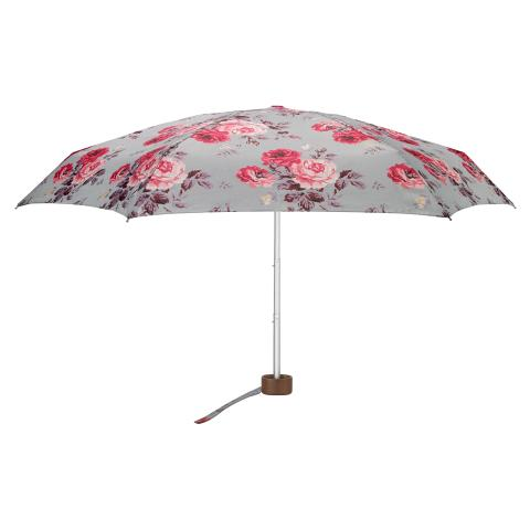 TINY UMBRELLA UV ANTIQUE ROSE SEAFOAM BLUE