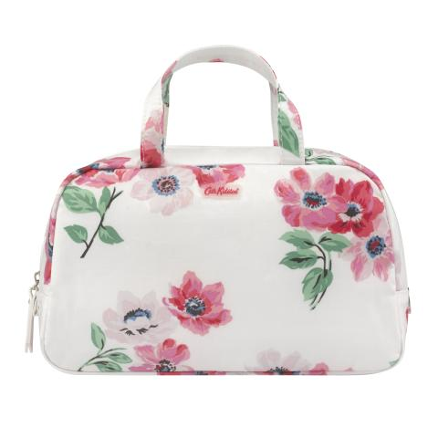 WASH BAG HANDLE  PAINTED POSY