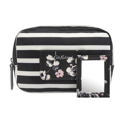 OVALCOSMETIC BAG BRETON STRIPE