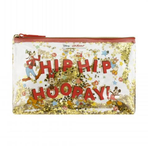 DISNEY GLITTER MATT WASH BAG