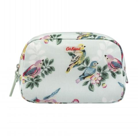 CLASSIC BOX COSMETIC BAG SPRING BIRDS