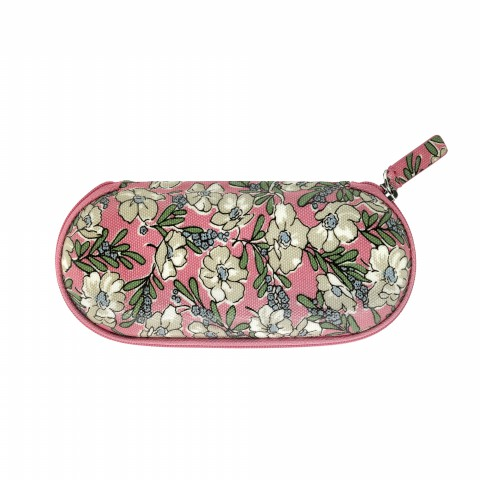 ZIP AROUND GLASSES CASE JASMINE DITSY DUSTY CORAL