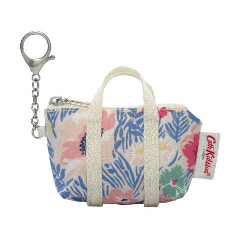 OVERNIGHT BAG KEYRING WINFIELD FLOWERS CORNFLOWER