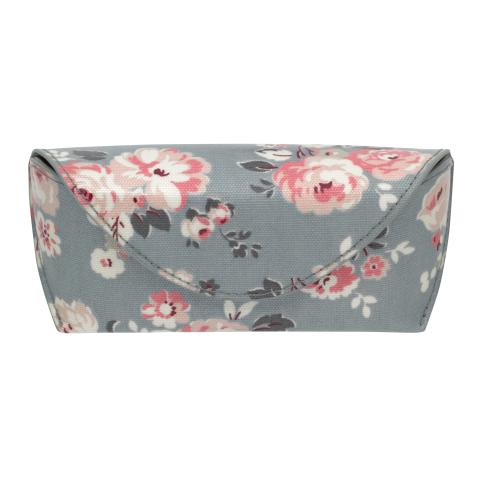 GLASSES CASE WELLS ROSE SLATE BLUE