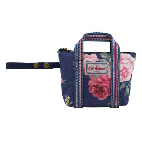 LARGE OVERNIGHT BAG CHARM ANTIQUE ROSE NAVY