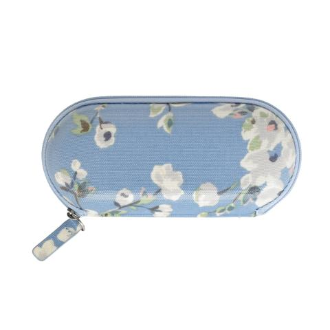 ZIP AROUND GLASSES CASE WELLESLEY BLOSSOM SOFT BLUE