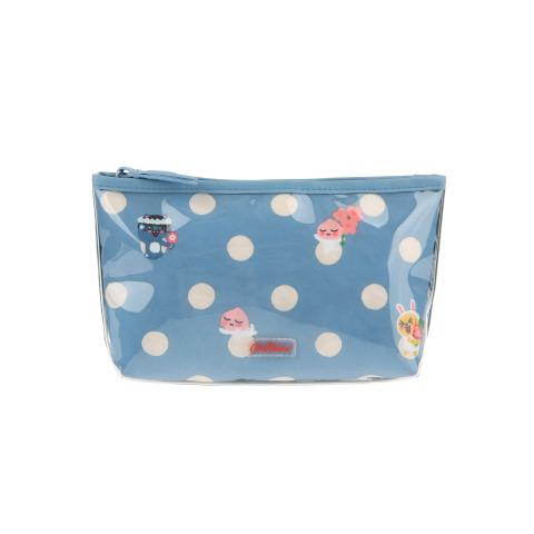 KAKAO FRIENDS BUTTON SPOT POLY LINED MAKE UP BAG