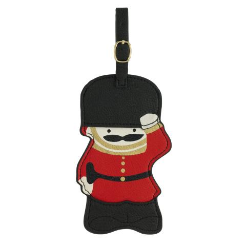 NOVELTY LUGGAGE TAG GUARDSBLACK
