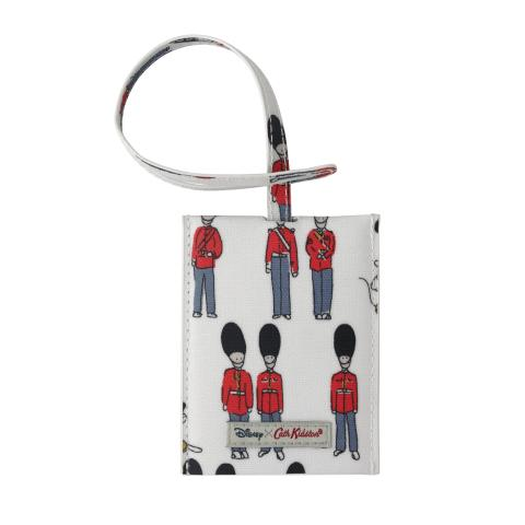 Disney Slip Down Luggage Tag Mickey and Guards Ivory