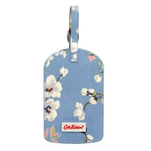 LUGGAGE TAG WELLESLEY BLOSSOM SOFT BLUE