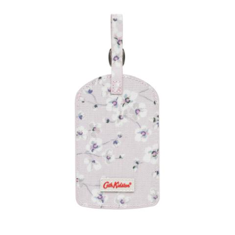 LUGGAGE TAG WELLESLEY DITSY BLUSH PINK
