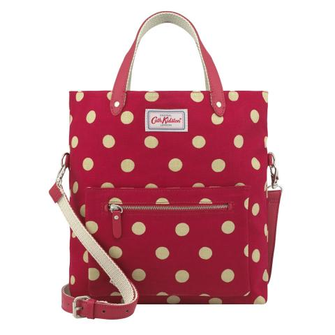 Button Spot Reversible Cross Body