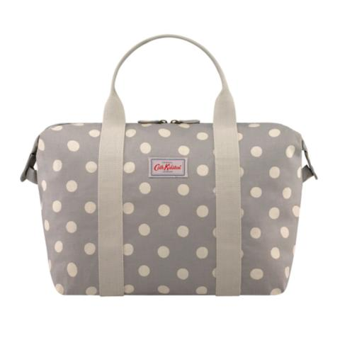 Shopper bag Foldaway Button SpotGrey