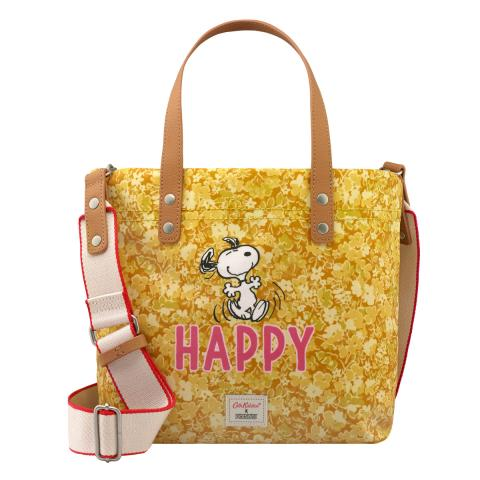 STote Snoopy Happy Paper Ditsy