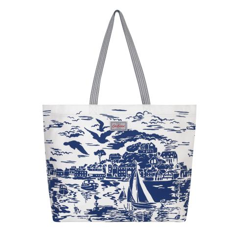 BEACH TOTE HARBOUR VIEW