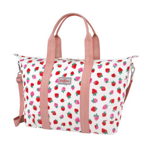 FOLDAWAY OVERNIGHT BAG SWEET STRAWBERRY