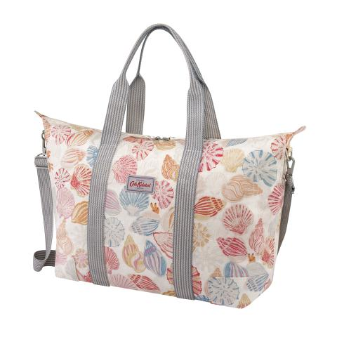 FOLDAWAY OVERNIGHT BAG SEASIDE SHELLS