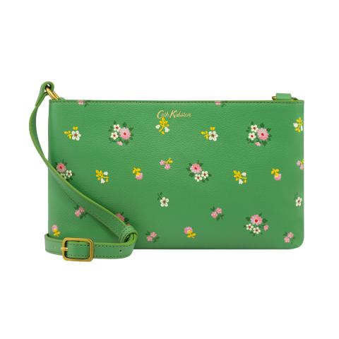 CROSSBODY SPACED BATH FLOWERS