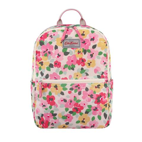 FOLDAWAY BACKPACK LARGE PAINTED PANSIES