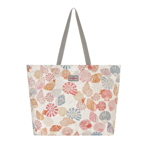 BEACH TOTE SEASIDE SHELLS