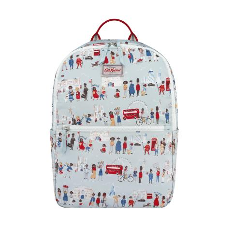 FOLDAWAY BACKPACK LONDON PEOPLE