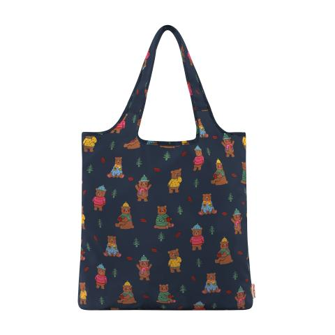 FOLDAWAY SHOPPER WOODLAND BEAR