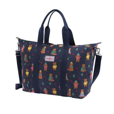 Foldaway Overnight Bag Woodland Bear