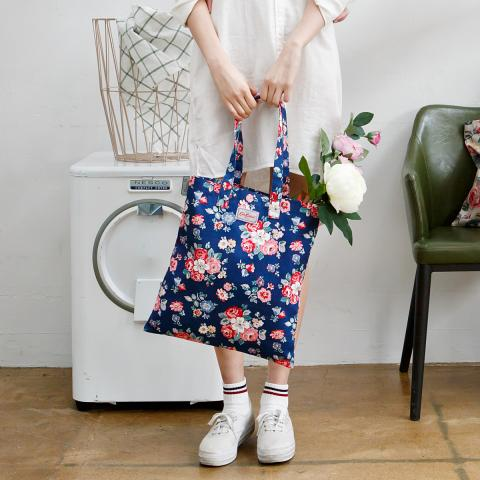 BOOK BAG COTTON FOREST BUNCH NAVY