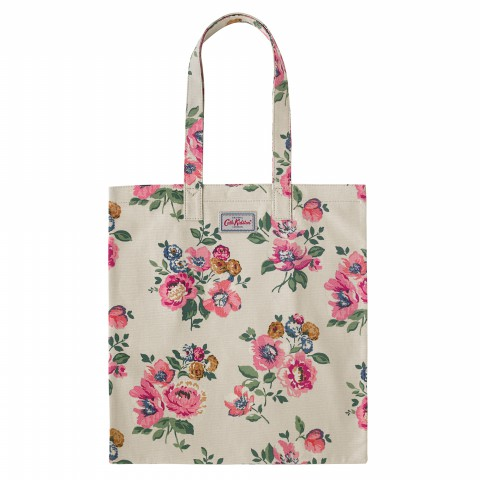 BOOK BAG COTTON WINDFLOWER BUNCH STONE
