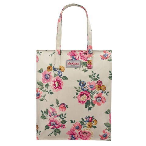 TALL ZIPPED SHOPPER WINDFLOWER BUNCH STONE