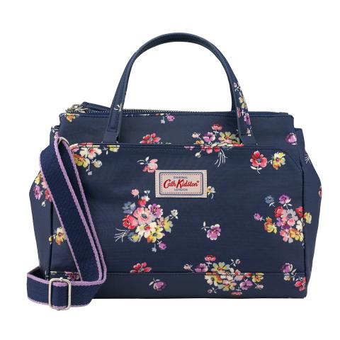 MINI MULTI POCKET HANDBAG MALLORY BUNCH NAVY