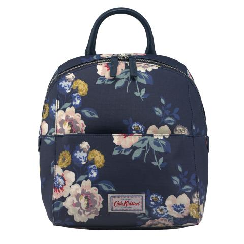 SMART ZIPPED BACKPACK WINDFLOWER BUNCH NAVY