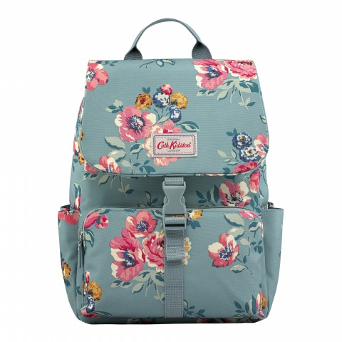 BUCKLE BACKPACK WINDFLOWER BUNCH SOFT TEAL