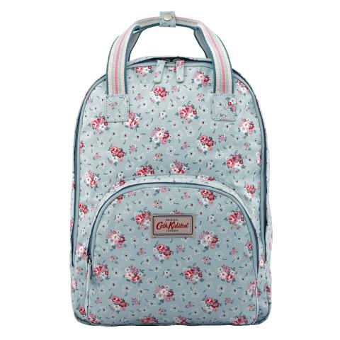 MULTI POCKET BACKPACK LUCKY BUNCH DUSTY BLUE