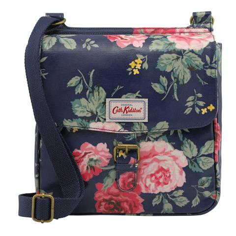 TAB SADDLE BAG ANTIQUE ROSE NAVY