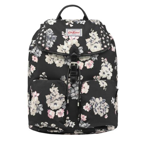 DUFFLE BACKPACK SCATTERED WOODSTOCK CHARCOAL