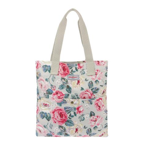 WASHED TOTE FOREST ROSE TAUPE