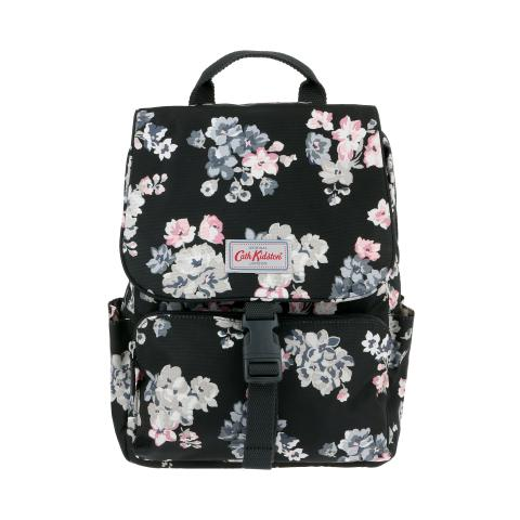 BUCKLE BACKPACK SCATTERED WOODSTOCK CHARCOAL
