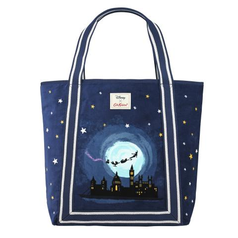 DISNEY PLACEMENT VELVET TOTE MIDNIGHT PLACEMENT SOFT NAVY
