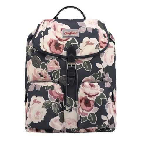 DUFFLE BACKPACK PAPER ROSE GRAPHITE GREY
