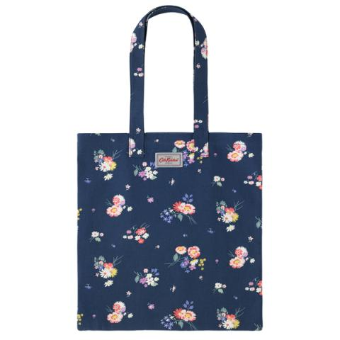 COTTON BOOKBAG BUSBY BUNCH NAVY