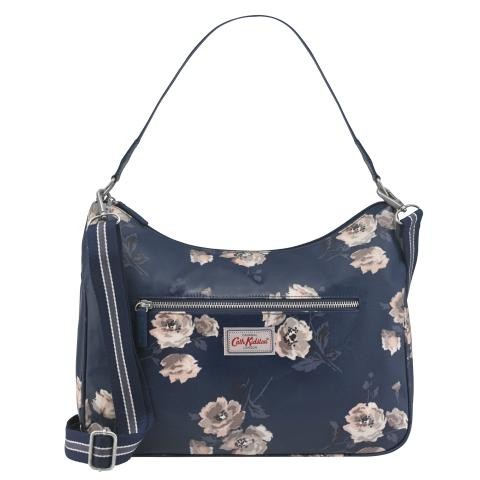 CURVE SHOULDER BAG ISLAND BUNCH NAVY