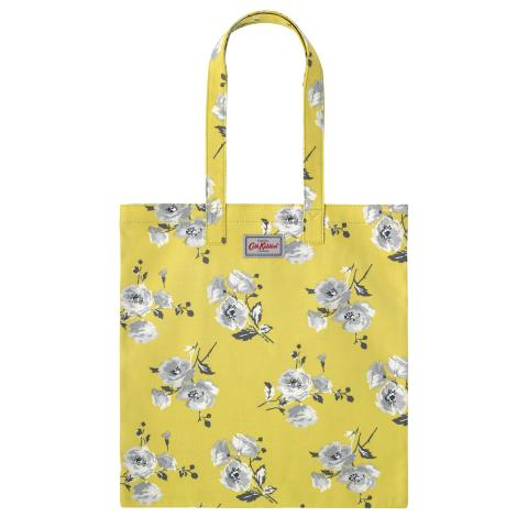 COTTON BOOKBAG ISLAND BUNCH YELLOW