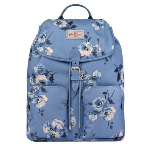 DUFFLE BACKPACK ISLAND BUNCH MID BLUE