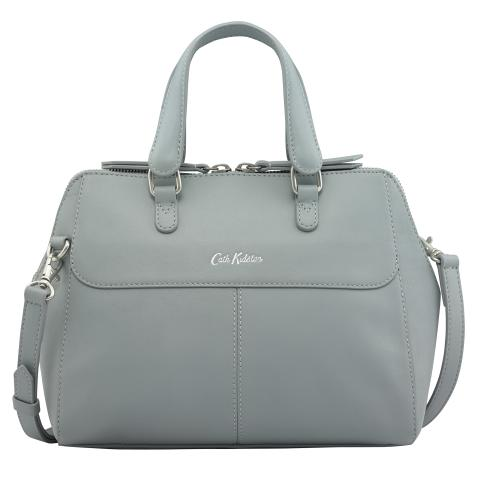 LEATHER THE HENSHALL BAG SEAFOAM BLUE