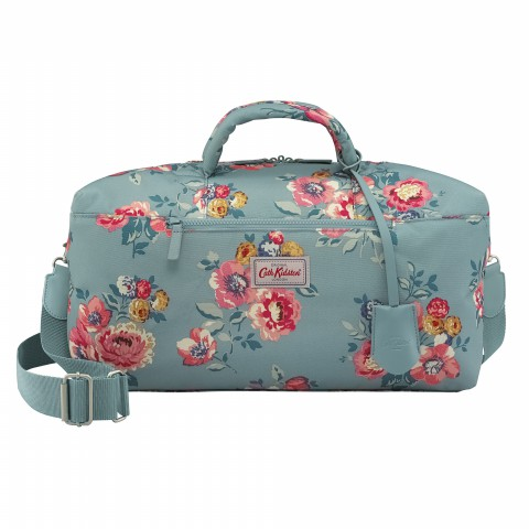 TRAVEL HOLDALL WINDFLOWER BUNCH SOFT TEAL
