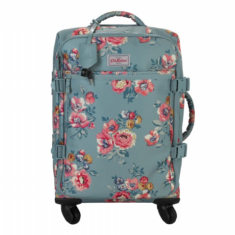FOUR WHEEL CABIN BAG WINDFLOWER BUNCH SOFT TEAL