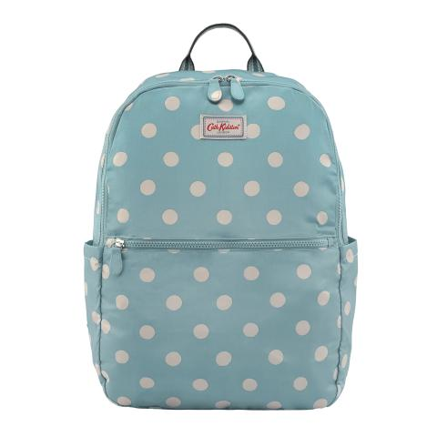 FOLDAWAY BACKPACK BUTTON SPOT SOFT TEAL