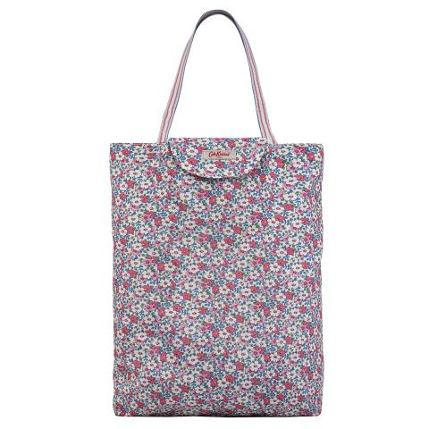 TOTE FOLDAWAY MEADOWFIELD DITSY PARCHMENT